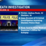 Authorities are investigating the death of a man in Sheldon