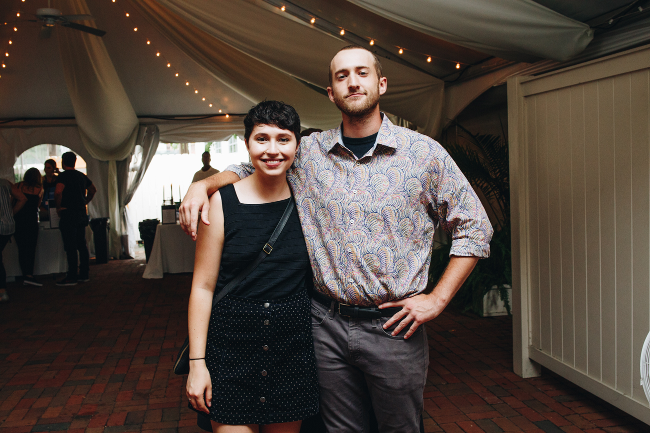 Erin Mathews and Anthony Thon /{ }Image: Catherine Viox // Published: 9.7.18