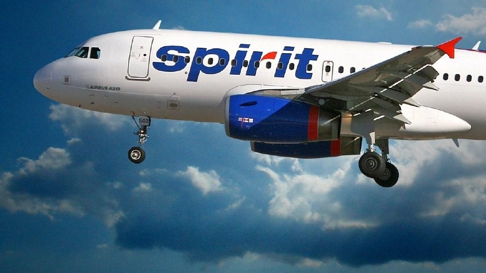 Boom box sparks in flight brawl on jet woai for Spirit airlines one way