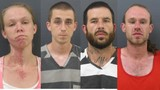 Four charged after man suffers serious head injuries in Hendersonville fight, shot fired