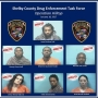 Operation Hilltop results in 7 arrests, seizure of cocaine in Shelby County