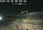 INTENSE VIDEO UHP trooper risks life to save driver stranded on train tracks UHP (5).JPG
