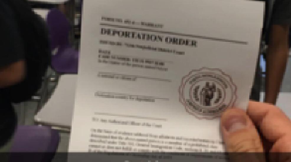 Shasta High School Deprotation Letter