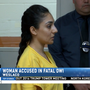 Sullivan City woman arraigned following deadly crash in Weslaco