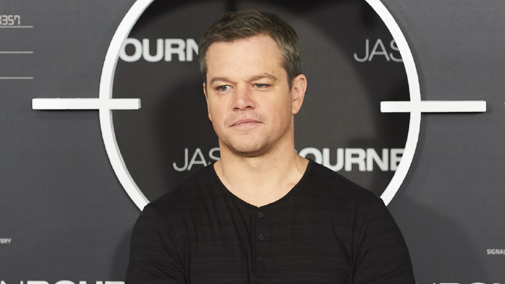 Matt Damon: 'Guns belong in Jason Bourne marketing materials'