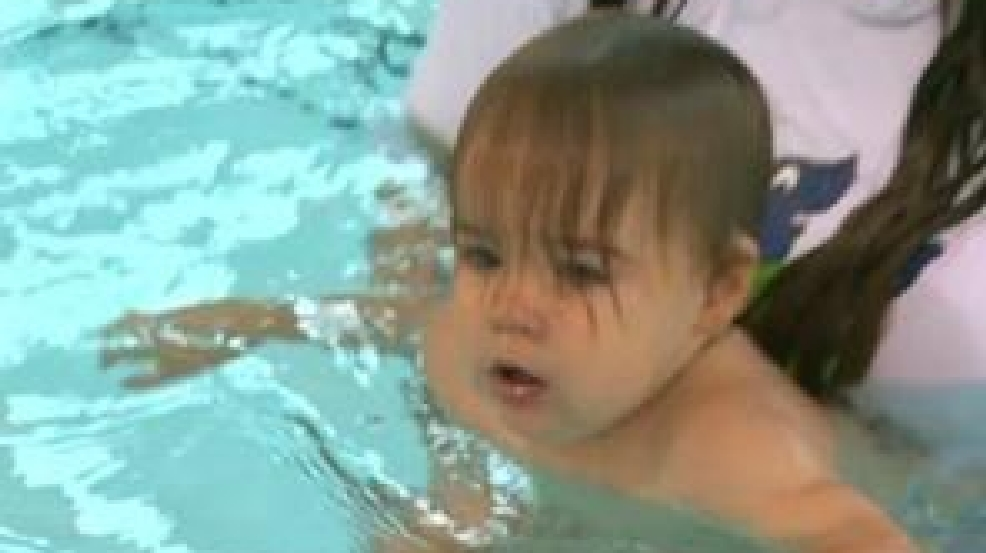Baby Swim Lessons Learning To Swim Early Has Its Advantages Wjla