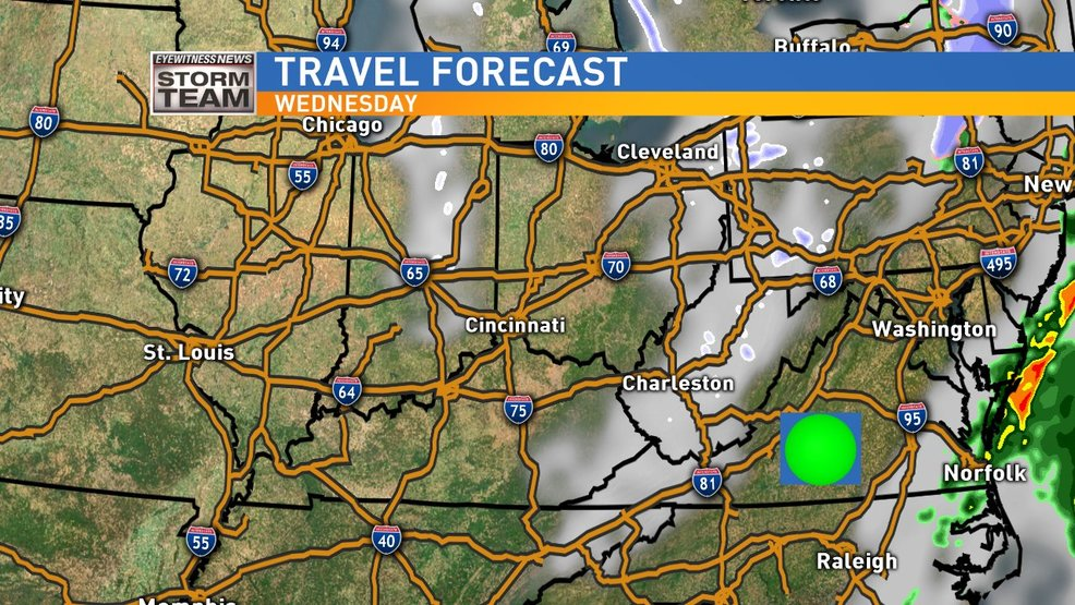 Pre-Thanksgiving Travel Looking Pretty Good Weather-wise
