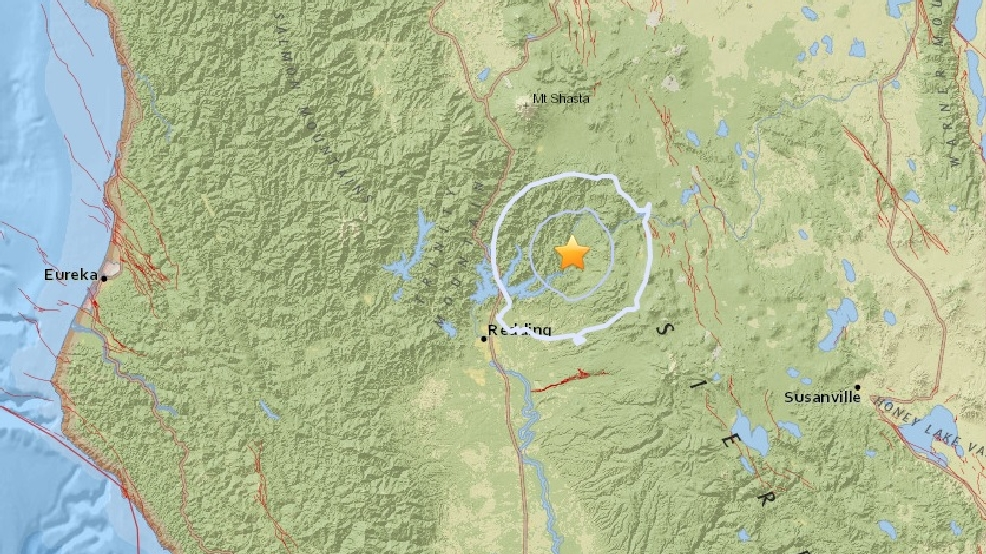 Two small earthquakes strike Northern... | KRCR