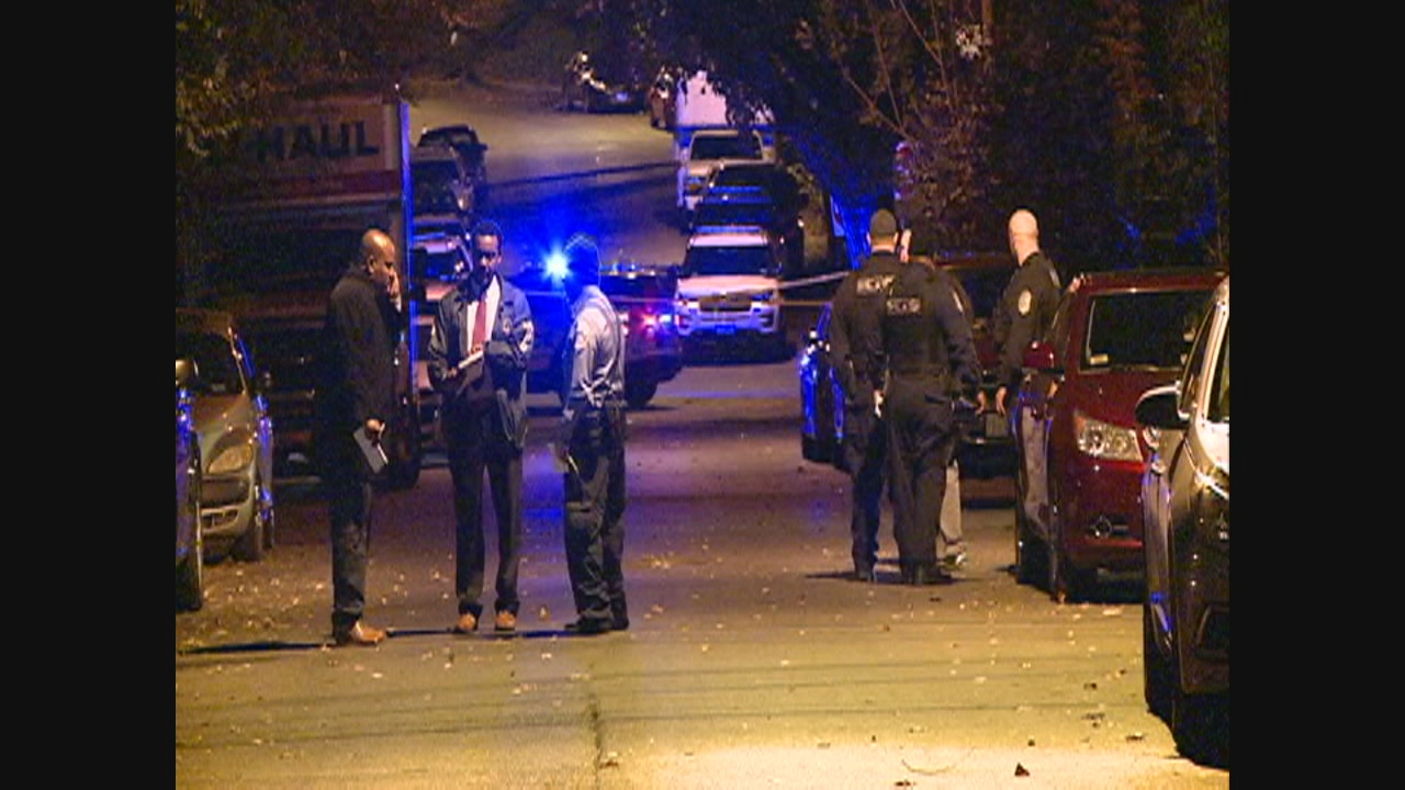A man is dead after being shot multiple times in D.C. Saturday night. (Photo, ABC7)