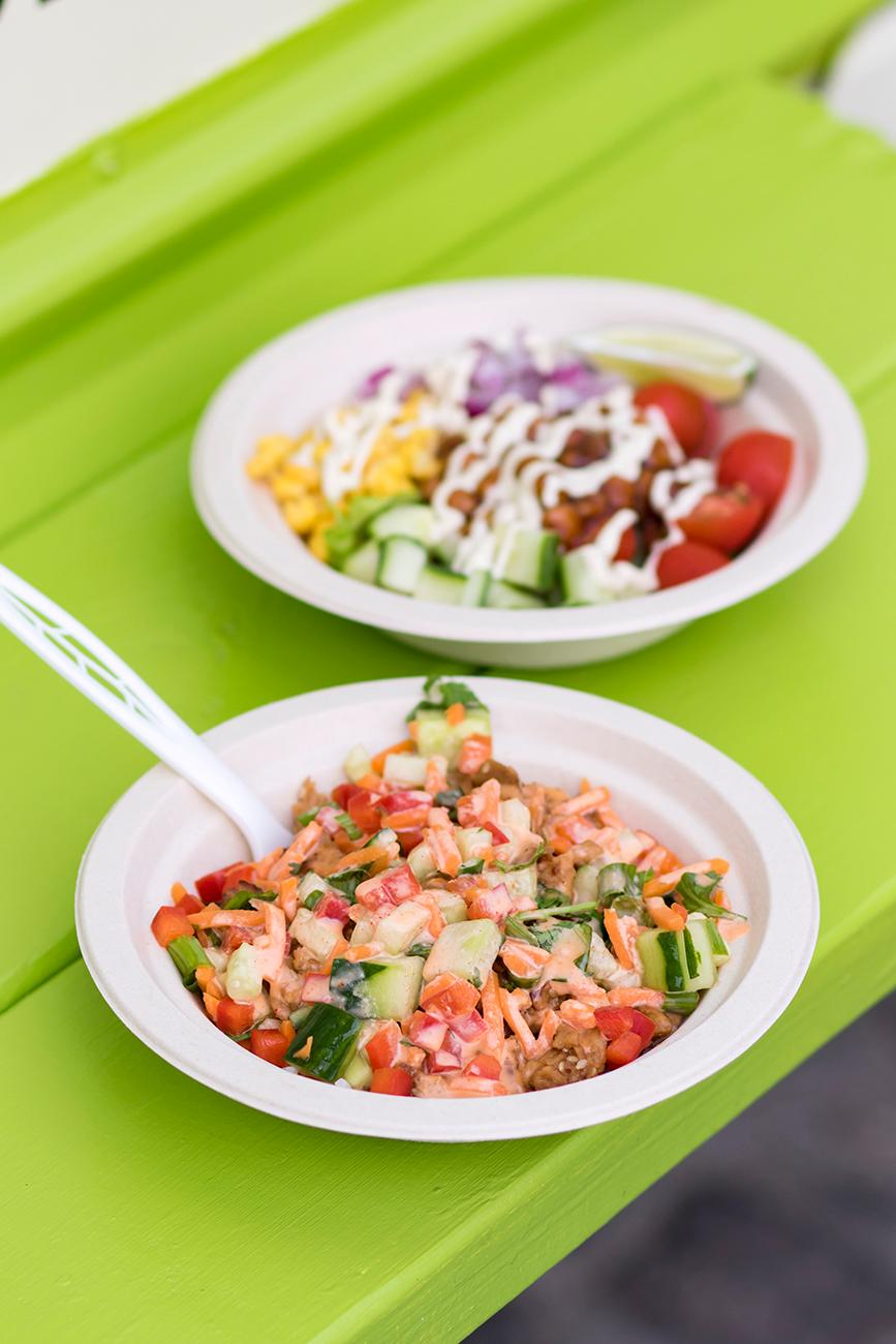 Dynamite Bowl and{ }BBQ Banzo Bowl / Image: Allison McAdams{ }// Published: 6.27.19