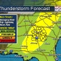 Weekend storms expected, severe weather possible by Monday