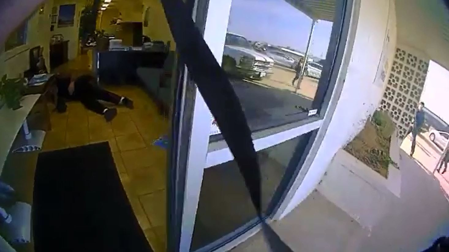 Body camera footage shows the moments police entered a Norman business during an active shooter situation Jan. 11. (Norman Police Department)<p></p>