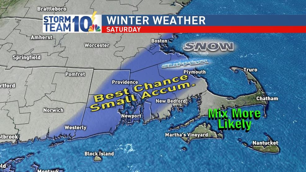 Storm brings potential for snow Saturday