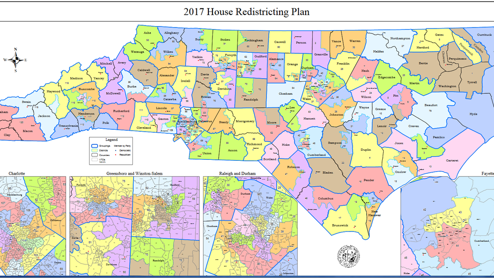 Excessive partisanship claimed in North Carolina maps suit | WCTI
