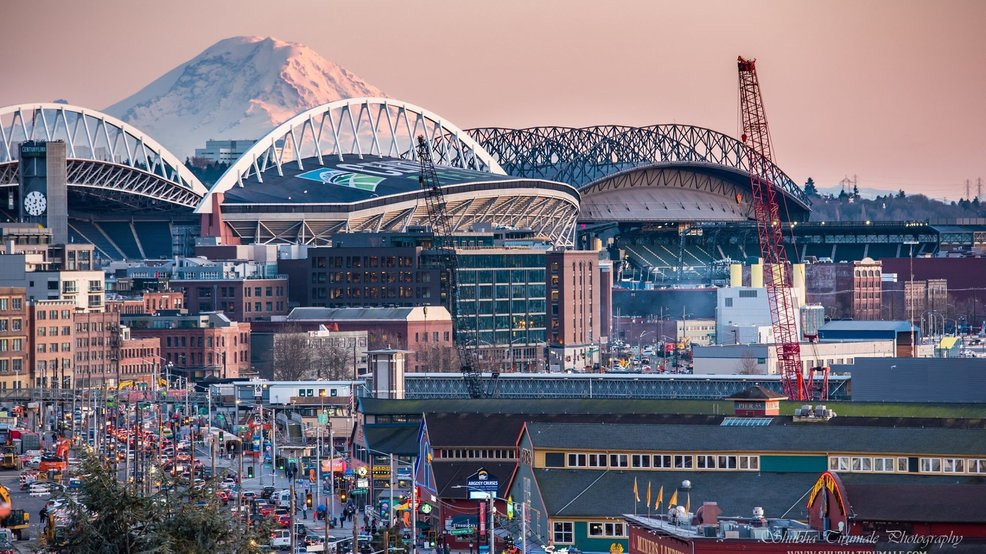 'Not a cloud in the sky': Seattle pulls off even rarer sunshine feat Wednesday