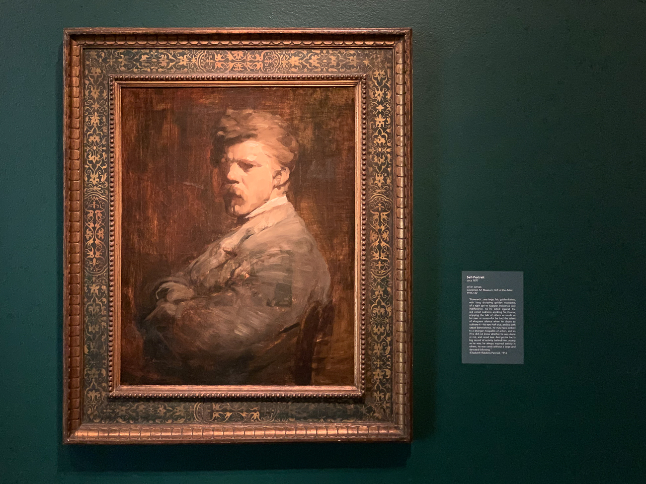 Frank Duveneck: American Master will be open to the public December 19th & 20th, and December 26th & 27th. It will be on display until March 28th, 2021 after the museum fully reopens. It is a ticketed exhibition and free to members. / Image: Phil Armstrong, Cincinnati Refined // Published: 12.19.20