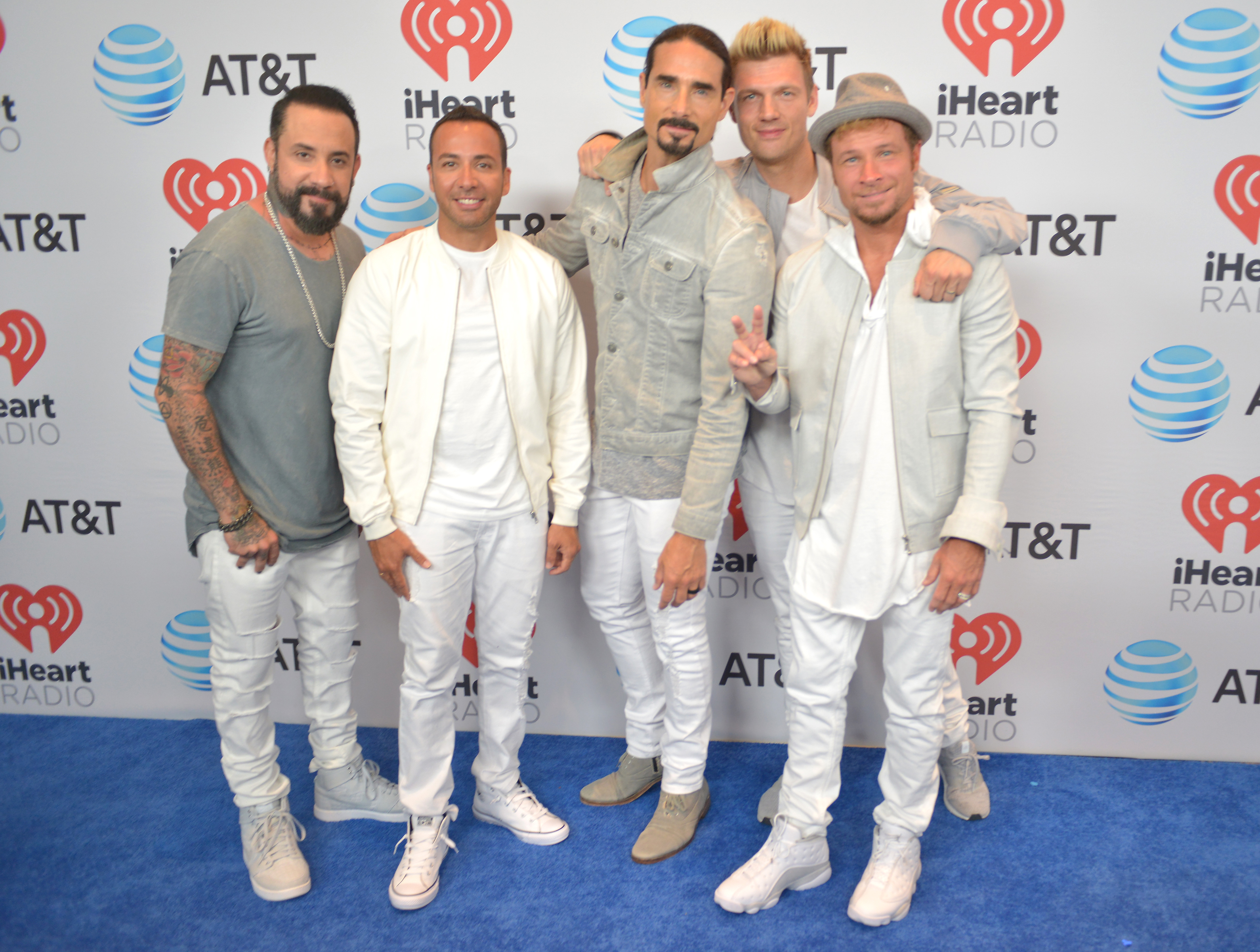 iHeartSummer 2017 at Fontainebleau Miami Beach - Day 2  Featuring: AJ McLean, Howie Dorough, Kevin Richardson, Nick Carter, Brian Littrell from the Back Street Boys Where: Miami Beach, Florida, United States When: 11 Jun 2017 Credit: Johnny Louis/WENN.com