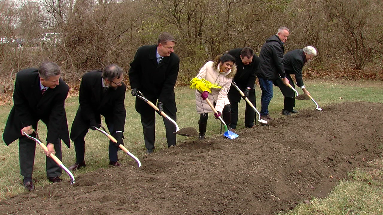 For the people: Groundbreaking held for state-of-the-art crime lab (WKRC)