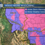 Winter storm conditions throughout Friday