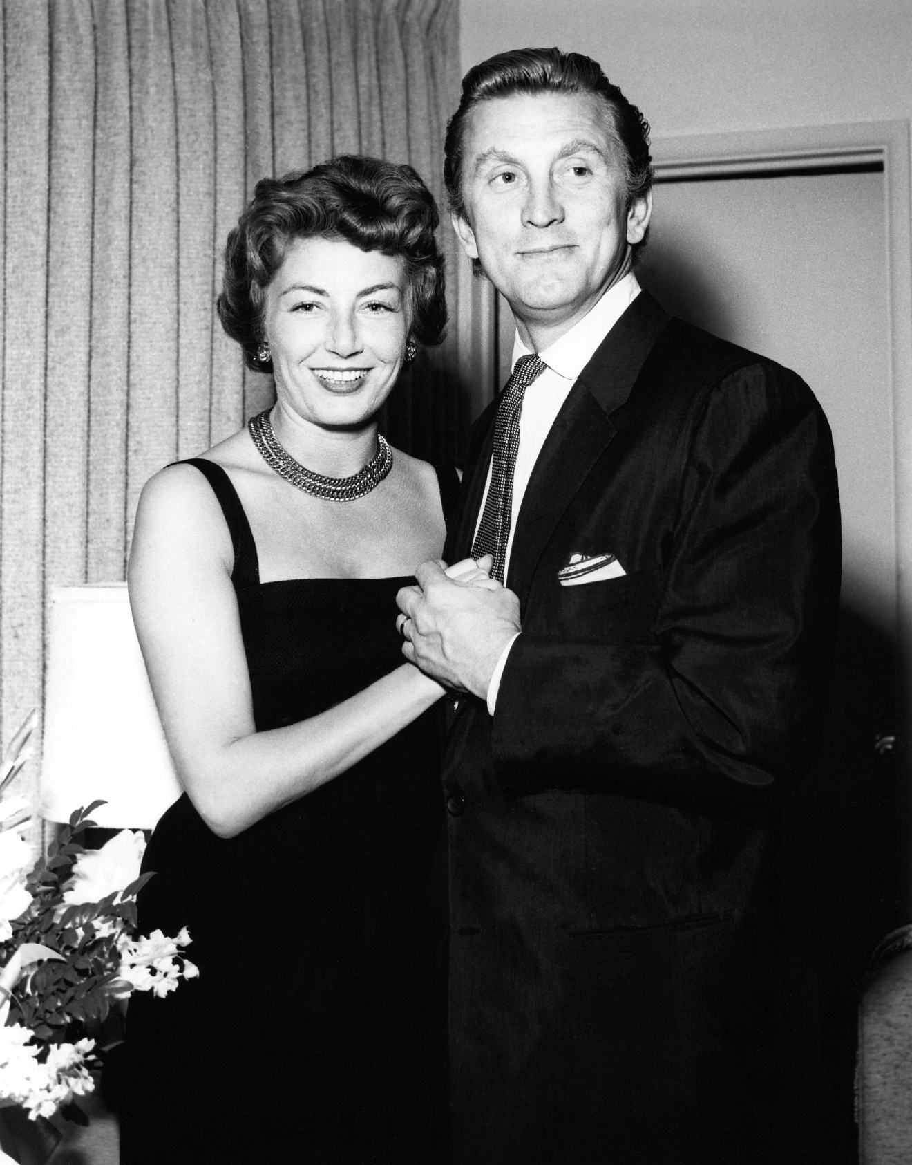Image result for kirk douglas 1952 and anne buydens
