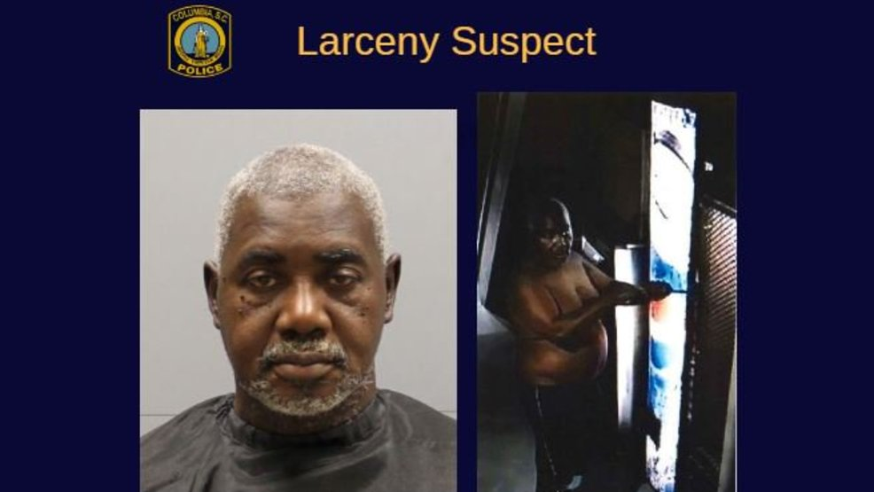 man wanted for stealing cash from several vending machines police