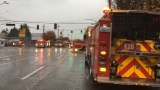Fire crews tackle blaze at pair of Ballard-area strip clubs