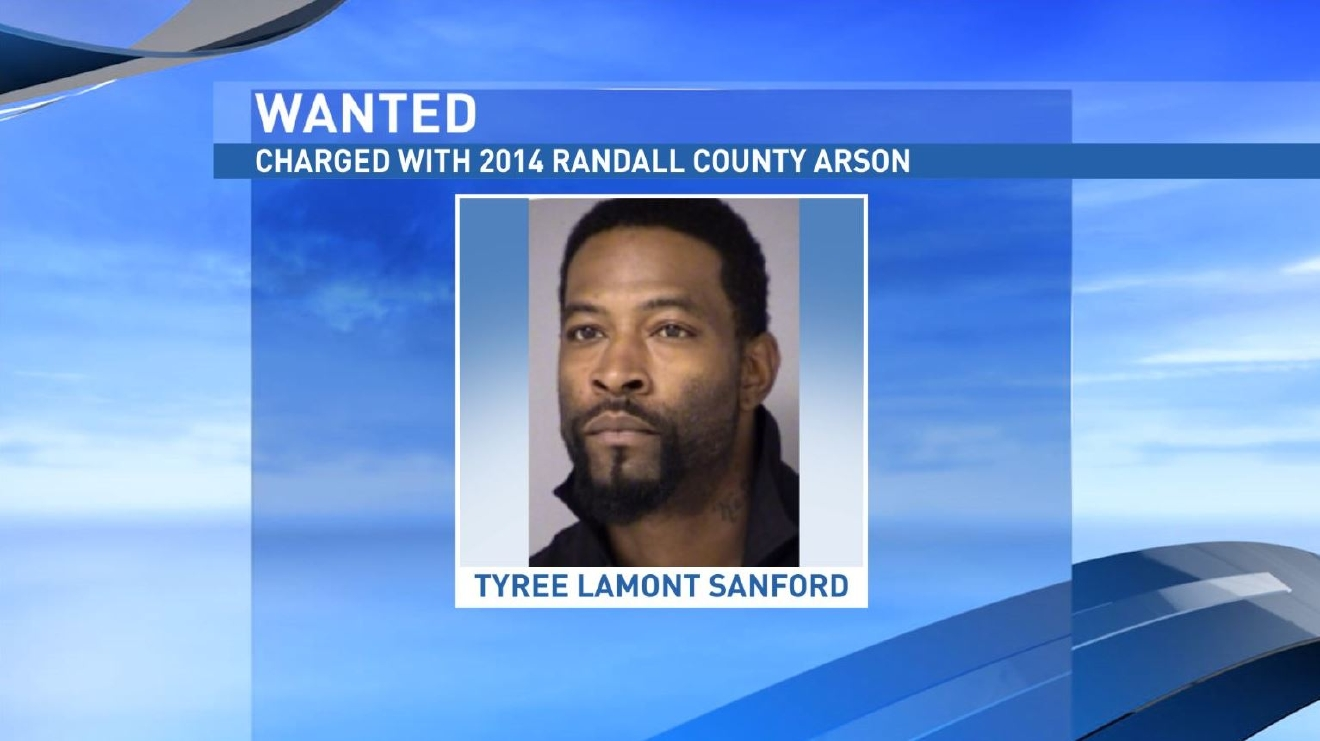 Tyree Lamont Sanford has been charged with a 2014 Randall County Arson case. (Amarillo Police Department)