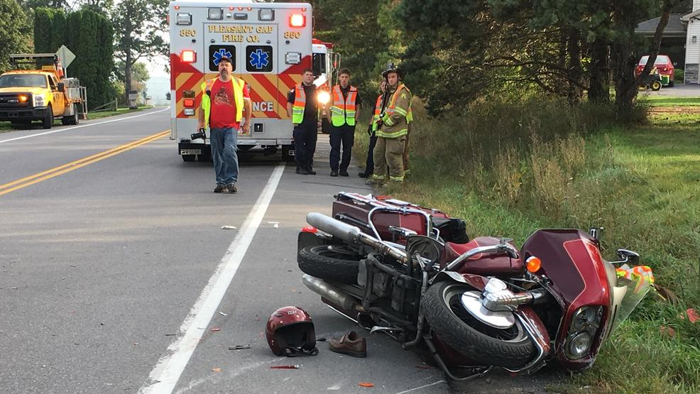 State Police And The Coroner Responded To A Motorcycle Crash Friday Morning In Centre County WJAC