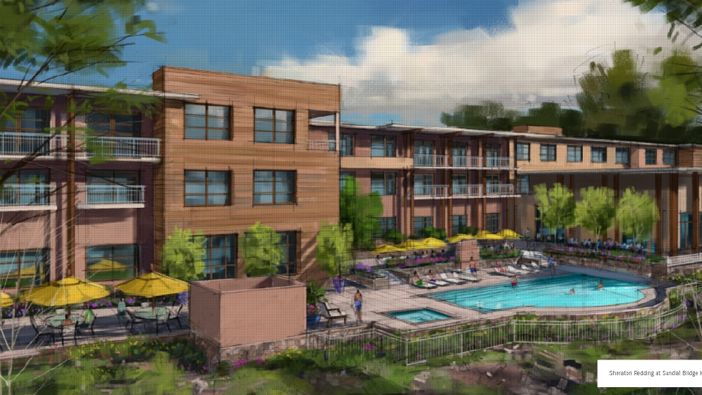 Redding Sheraton Hotel Planned To Be Completed By Fall