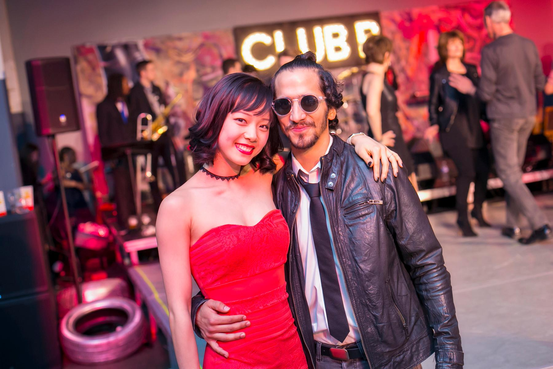 "Pictured: Sirui Liu and Rodrigo Almarales from the gallery ""Cincinnati Ballet Hosted The Hottest Dance Party Of The Year Last Night At MadTree"" / Image: Mike Bresnen // Published: 12.31.17"