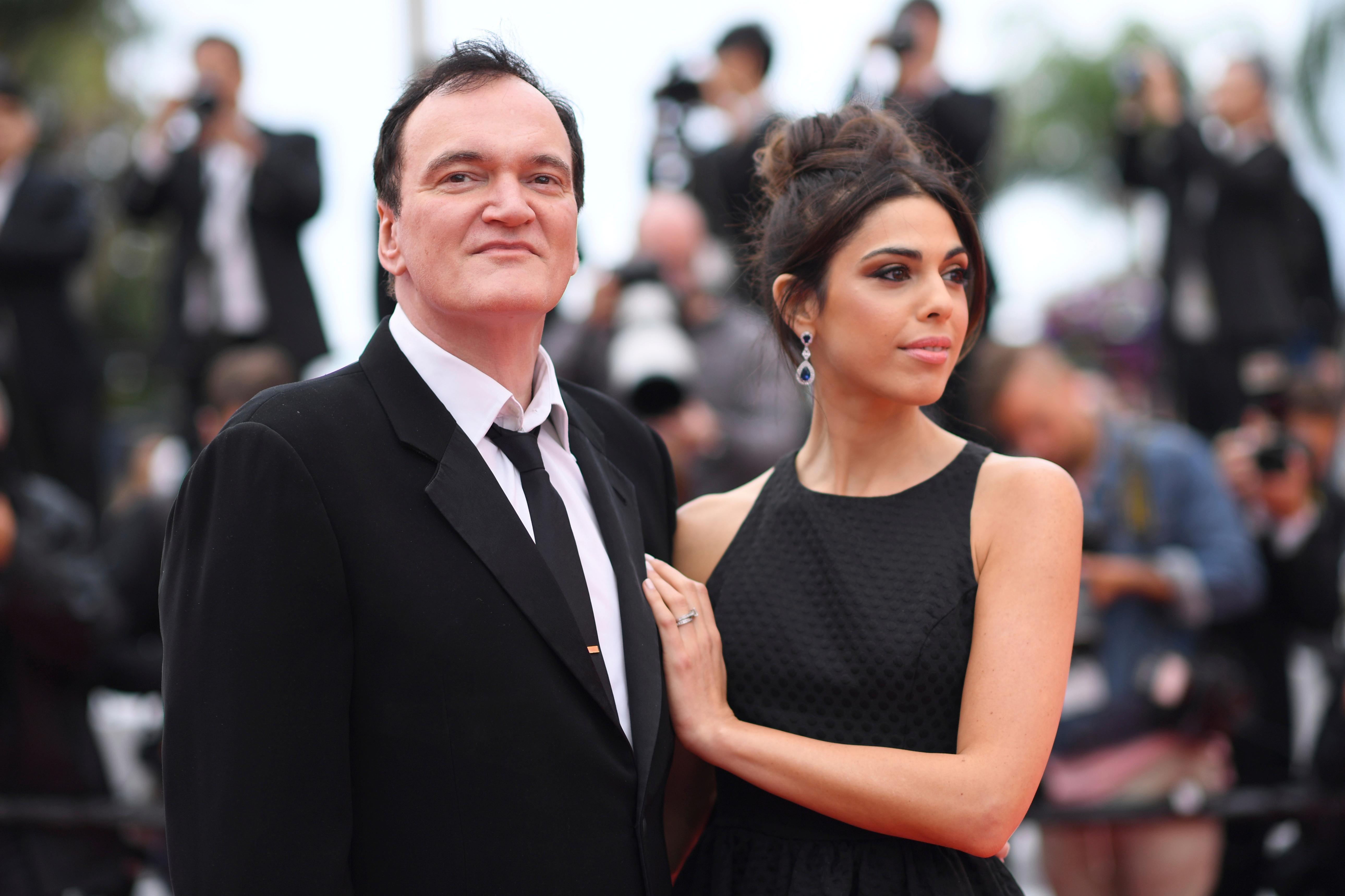 Film director Quentin Tarantino and his wife Daniela Pick pose for photographers upon arrival at the premiere of the film 'The Wild Goose Lake' at the 72nd international film festival, Cannes, southern France, Saturday, May 18, 2019. (Photo by Arthur Mola/Invision/AP)