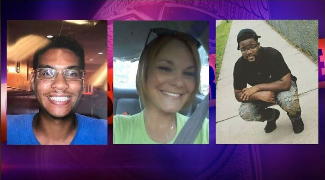 The shooting deaths of Anthony Naiboa, Monica Caridad Hoffa and Edward Mitchell are all under investigation as the work of a possible serial killer. (Tampa Police)