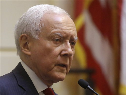 EXCLUSIVE NEWS: Utah Senator Hatch says leaks must stop. (PHOTO: KUTV).