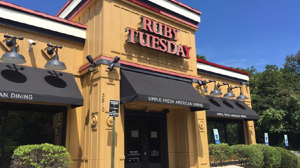 lynchburg ruby tuesday abruptly closes along with nearly 100 other
