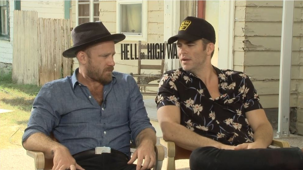 Dueling troubadours: Chris Pine and Ben Foster talk friendship and 'Hell or High Water'