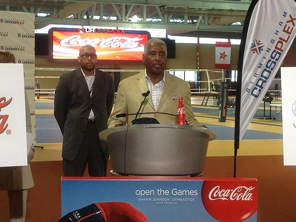 Mayor Bell speaking at Crossplex 6-14-12