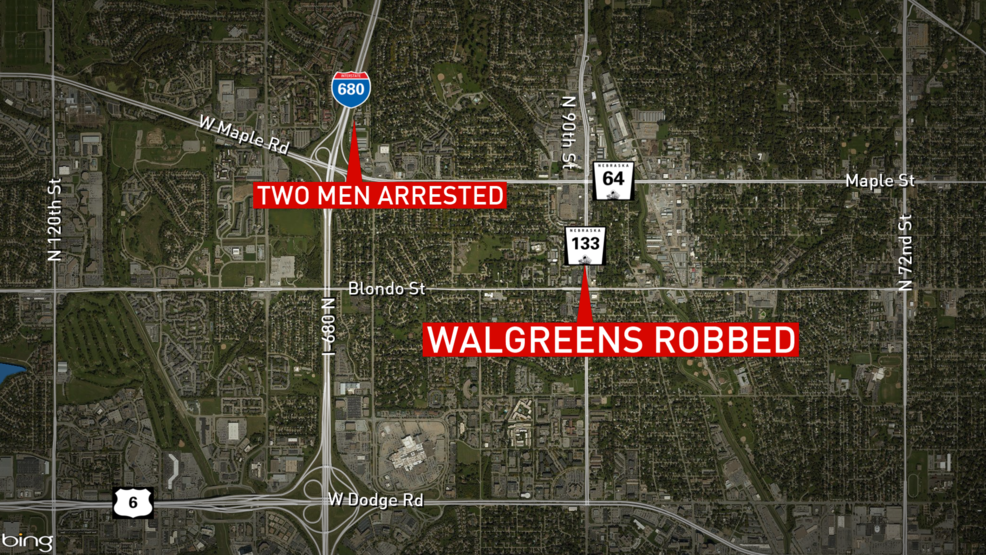 OPD arrests two people in Walgreens robbery | KPTM