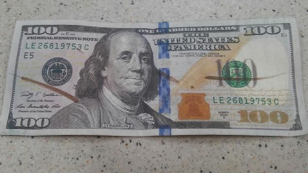 Customer gets fake $100 bill at Walmart | WCTI