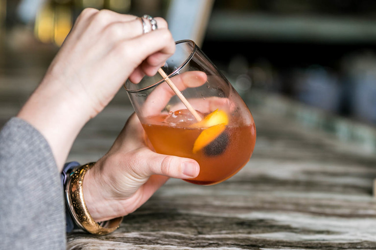 Old Fashioned: rye whiskey, bitters, sugar, cherry / Image: Amy Elisabeth Spasoff // Published: 5.26.18