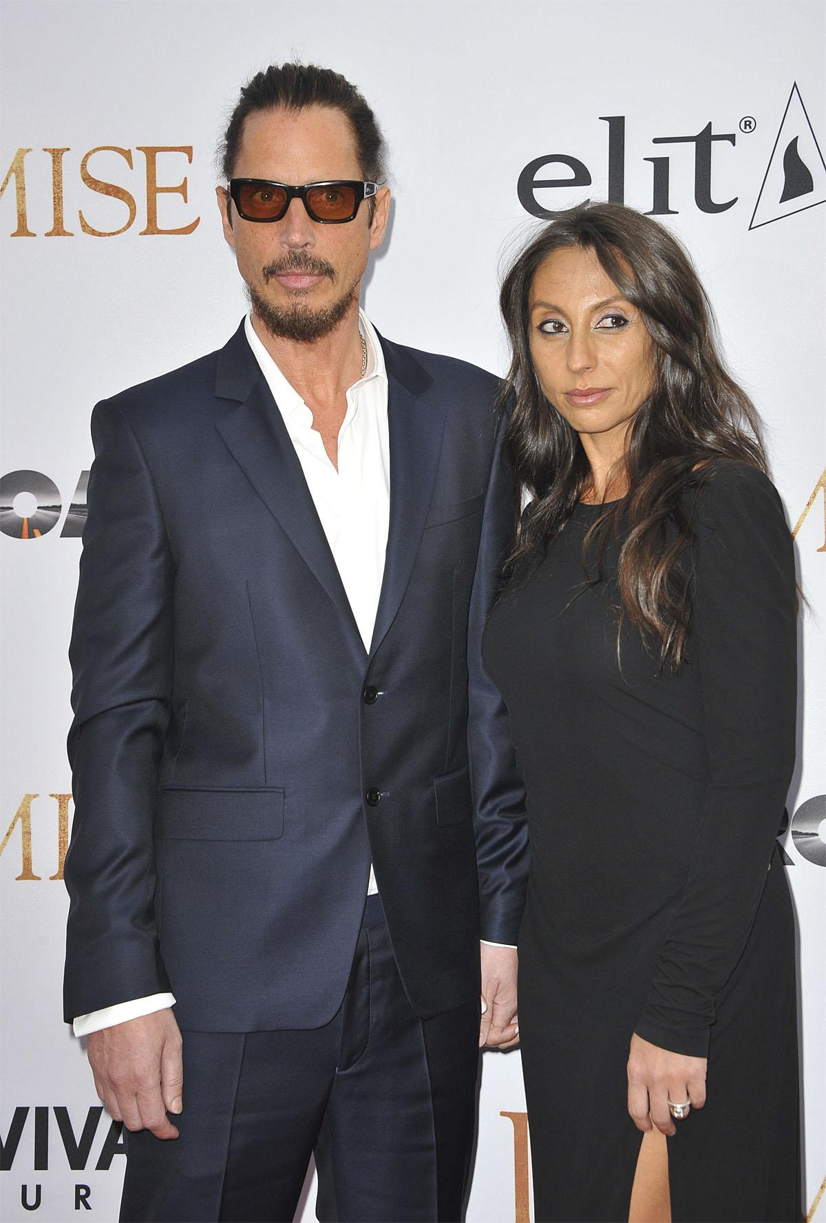 Film Premiere The Promise  Featuring: Chris Cornell, Vicky Karayiann Where: Los Angeles, California, United States When: 13 Apr 2017 Credit: Apega/WENN.com