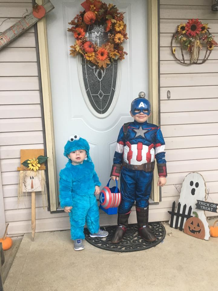 Captain America and Cookie Monster. Submitted by Samantha Lynn Malone