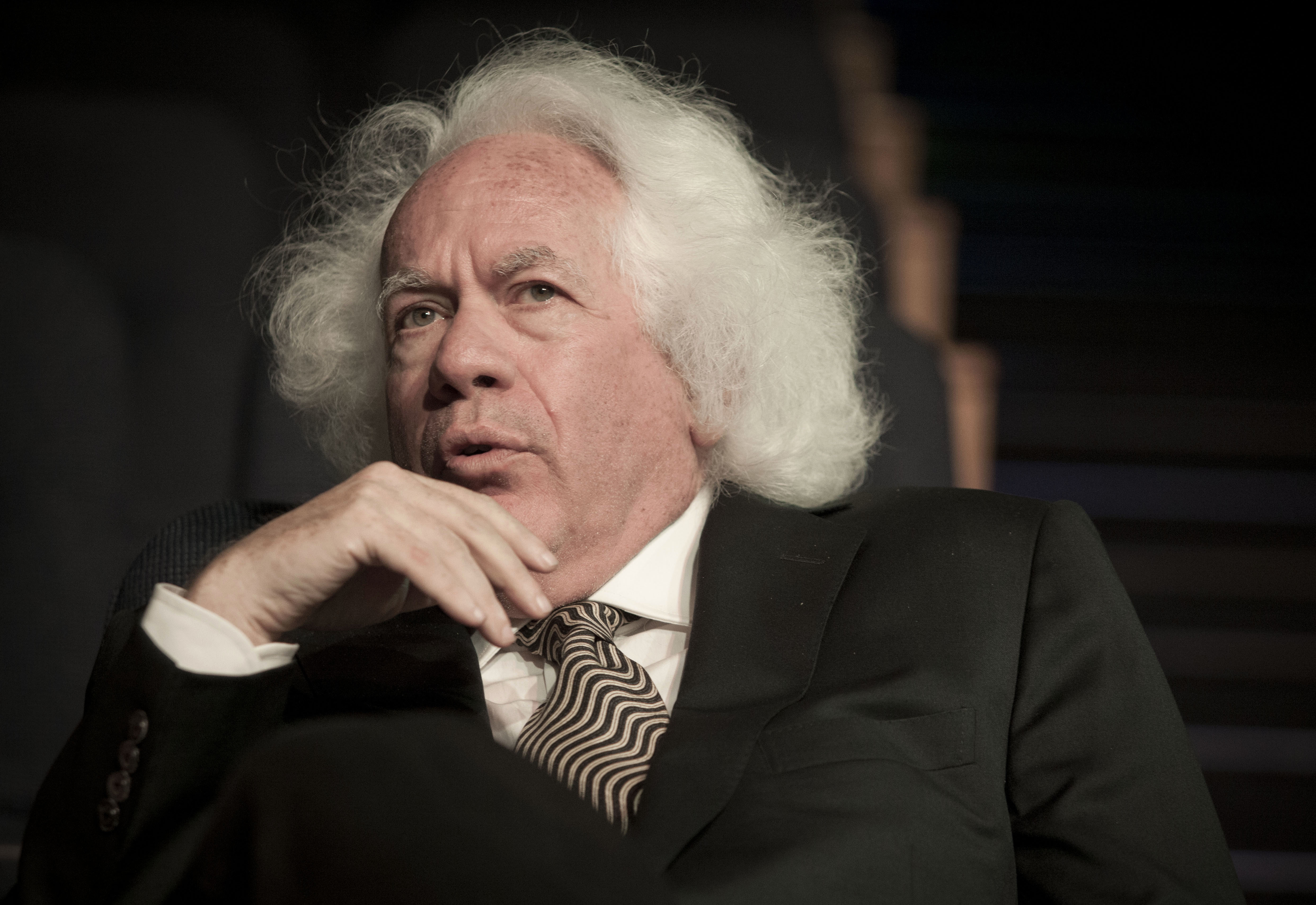 FILE - In this June 9, 2013 file photo, literary editor Leon Wieseltier poses for a photograph in Tel Aviv, Israel.  (AP Photo/Dan Balilty, File)