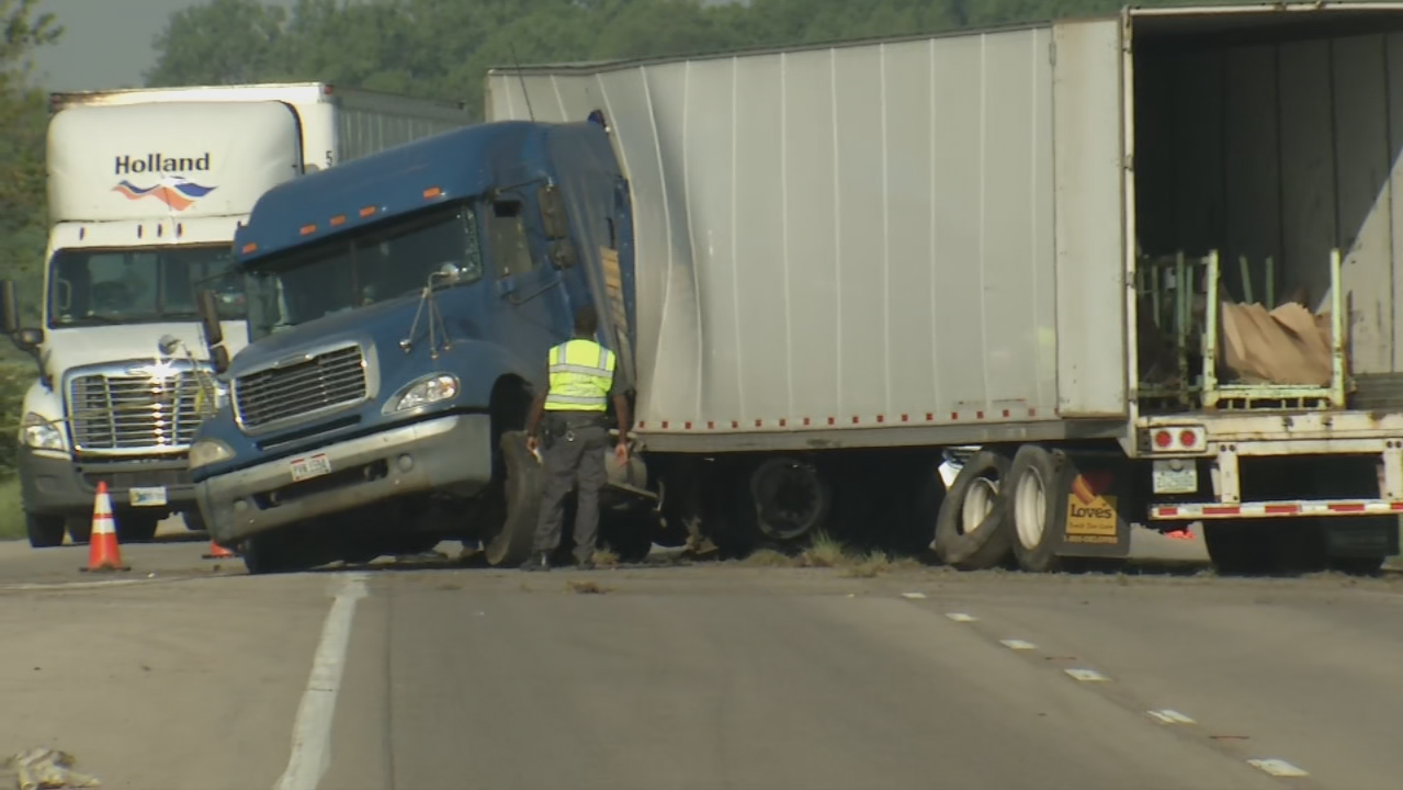 Crash involving semi shuts down S.R. 4 in both directions (WKEF/WRGT)