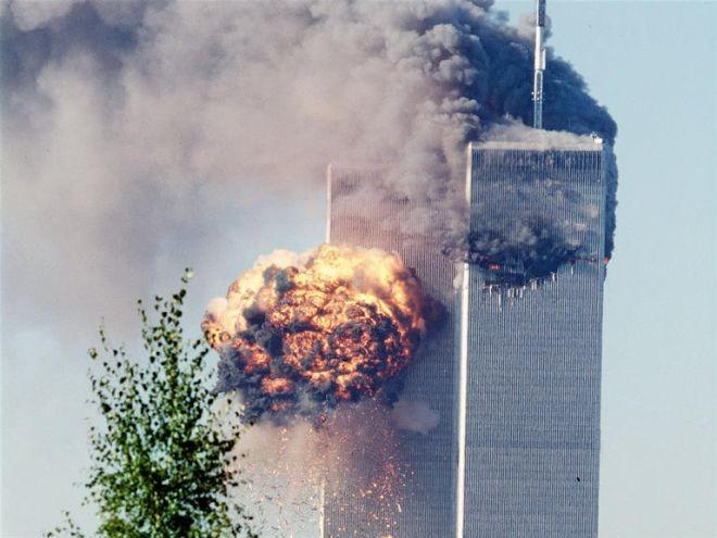 9:03 a.m.: United Airlines Flight 175 crashes into the South World Trade Center tower. Flight 175 departed Boston bound for Los Angeles carrying 65 people including 5 hijackers.