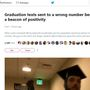 Viral tweets show encouraging exchange after CCU grad texts wrong number