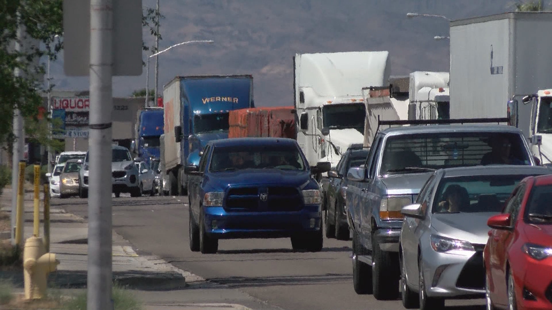 It's 15 miles of new road! But see why a freeway designed to improve your travel could also damage an entire city! (Tom Hawley | KSNV)