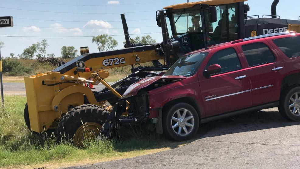 Motor grader accidents for Texas department of motor carriers