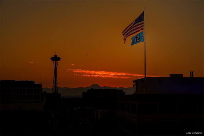 Seattle Space Needle at sunset. (Photo: Chad Copeland)
