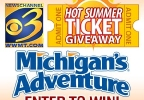 Hot Summer Ticket Giveaway - Michigan Adventure