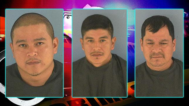Mario Hernandez,{&amp;nbsp;} Fernando Lopez-Cruz, and{&amp;nbsp;}Naul Dorantes-Garcia are facing charges stemming from an animal cruelty investigation at McArthur Dairy Farm in Okeechobee. (Okeechobee County Sheriff's Office)<p></p>